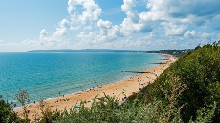 Bournemouth's seven miles of pristine Jurassic coast draw beach lovers from far and wide