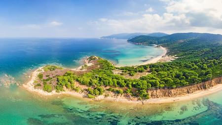 Enjoy island life on the stunning beaches of Skiathos