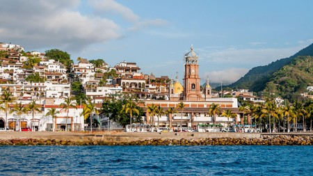 The Malecon Waterfront in downtown Puerto Vallarta