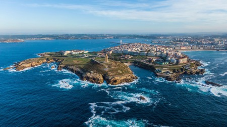 A Coruña's green peninsula is home to Eurostars Ciudad de la Coruña, one of the city's top hotels famed for its spa