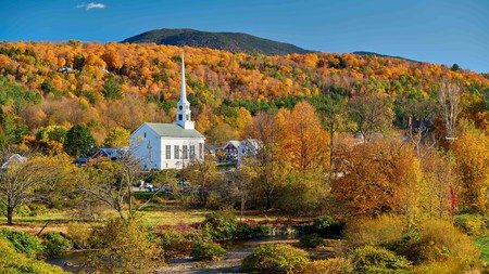 Leafy Vermont will especially wow you in autumn when the leaves turn all shades of orange