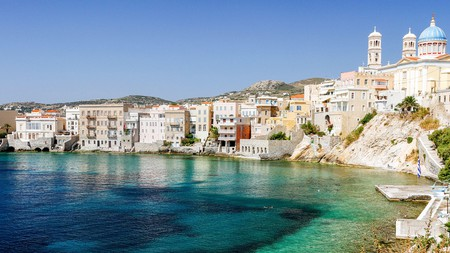 Personalise your trip to the Greek island, Syros, and choose a hotel perfectly suited to your needs