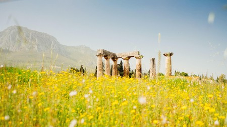Step back in time and discover the history of Corinth