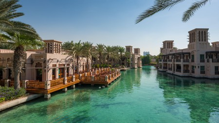 Staying at Jumeirah Al Qasr is a heady, romantic, extravagant experience