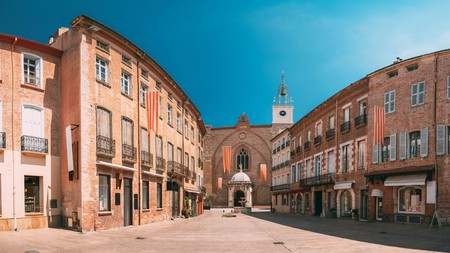 The Perpignan Cathedral of St Jean the Baptist is just a short walk from many of the city's hotels