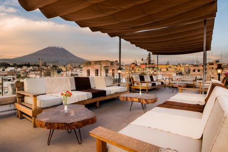 Palla Boutique Hotel in Arequipa, Peru, is a mountain-facing oasis of calm, moments from the city centre. Come here to enjoy the beauty of the National Reservation, as well as downtown and the Basilica