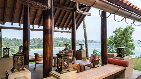 Enjoy breakfast with a slice of sunrise at Cape Weligama