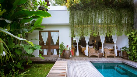 De Ubud Villas is beautiful and easy on the pocketbook