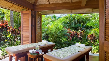 The spa at the Grand Hyatt Kauai