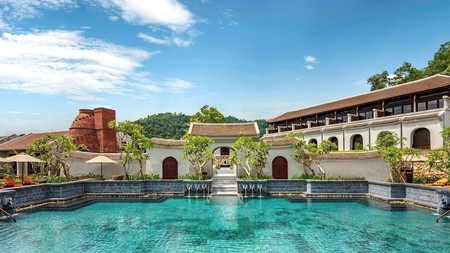 Legacy Yen Tu MGallery Hotel is a spiritual wellness retreat in the Dong Trieu mountain range with an exquisite spa and opulent dining options