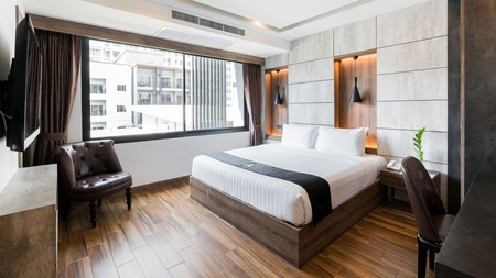 Even budget-friendly hotels in Pattaya can be hip and luxurious