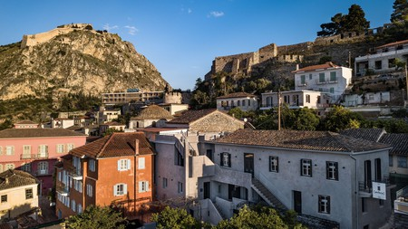 Nafplio is a tapestry of ruins, narrow laneways, medieval castles and Ottoman and Neoclassical architecture