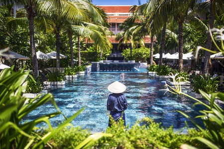 Almanity Hoi An Wellness Resort has one of the largest spas in Vietnam