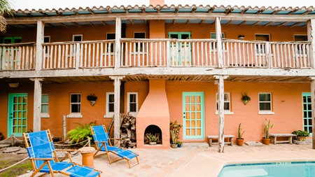 Alta Vista is a charming property with an Old Mexico vibe