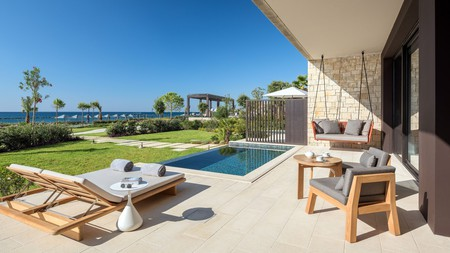 Enjoy the sea views at the Amara Hotel on Cyprus