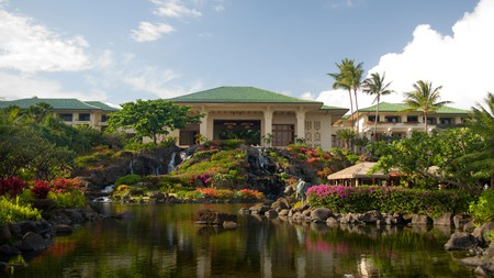 A personalized service keeps things intimate at the Grand Hyatt Kauai Resort and Spa