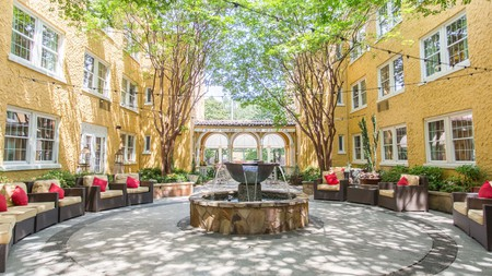 Save your cash for all the cultural offerings in Atlanta with a budget-friendly stay