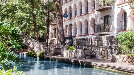 The beautiful Omni La Mansión del Rio sits on the famous San Antonio River Walk