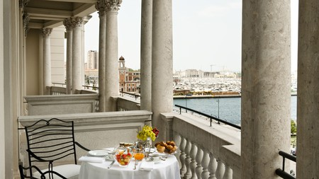 Savoia Excelsior Palace is one of many fabulous hotels in Trieste
