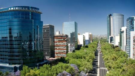 St Regis Mexico City has great views of Paseo de la Reforma