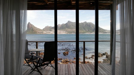 Lion's Head, seen from a room at the Tintswalo Atlantic