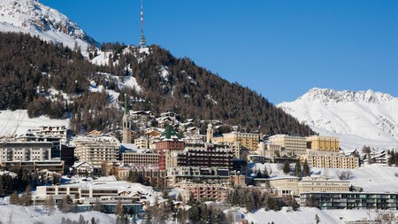Explore the mountainous terrain of one of the best ski resorts in Switzerland from these luxurious hotels in St Moritz
