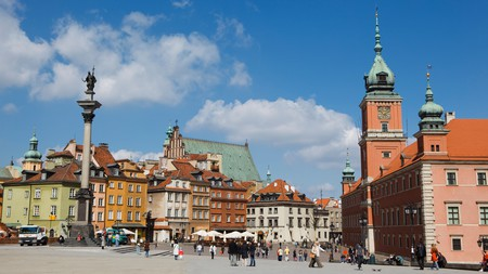 Stay in the heart of Warsaw's Old Town