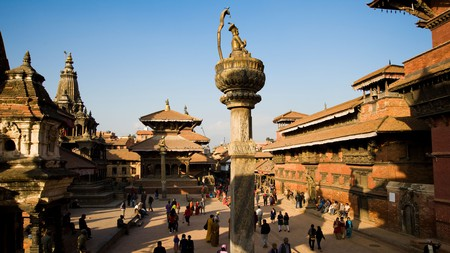 Many of the hotels in Kathmandu are close to popular tourist attractions