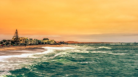 Swakopmund is sandwiched between the Atlantic and the Namib Desert