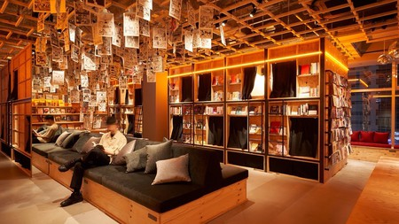 Who doesn't want to read in a cosy capsule bed? Book and Bed Tokyo Shinjuku has captured the book lover's dream, with affordable sleeping pods and a library of manga (amongst other things) for guests to peruse