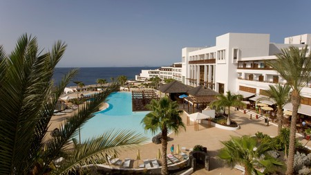 Book into one of Lanzarote's extensive resorts