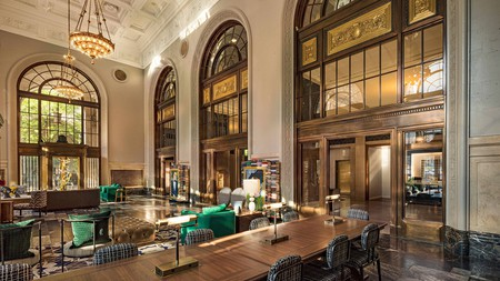 The Notary Hotel impresses from the moment you enter the lobby