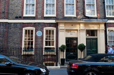 Hazlitt's was once the home of 18th-century essayist William Hazlitt