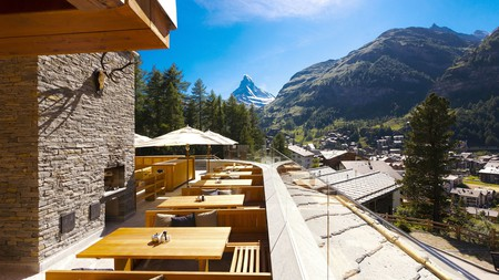 There are plenty of magnificent views of the Matterhorn in Zermatt