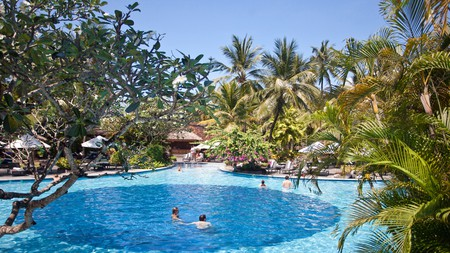 The Laguna has seven refreshing pools you can relax in and explore