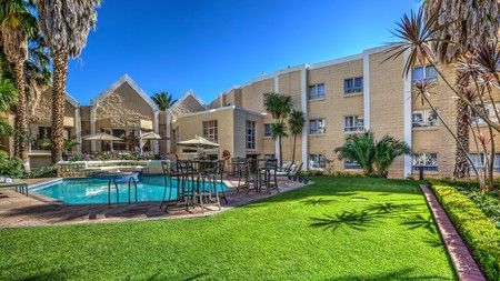 City Lodge Hotel Bloemfontein packs charm thanks to its well-tended gardens and swimming pool