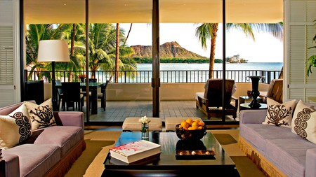 The iconic Waikiki Beach in Honolulu is served by a wide range of hotels to suit every kind of vacationer