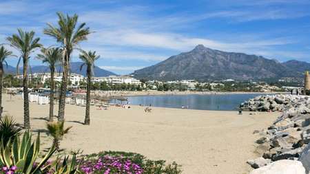 If you crave sandy beaches, you'll be spoilt for choice on the Costa del Sol. This one, Puerto Banus, can be found just south of Marbella.