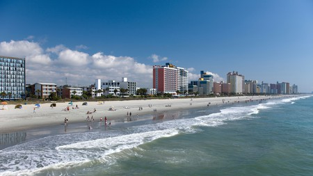 With miles of beach and a range of excellent pet-friendly hotels, Myrtle Beach is ideal for a trip with your four-legged friends