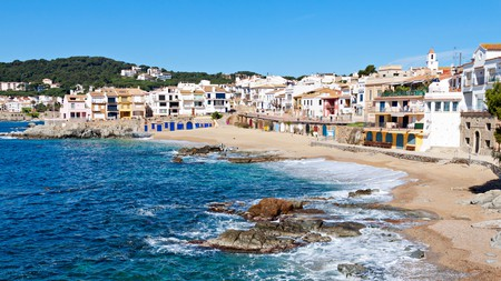 The quaint fishing village of Calella de Palafrugell on the Costa Brava