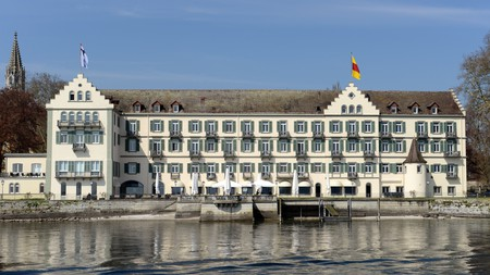 Steigenberger Inselhotel is a former Dominican monastery building at Lake Constance in Constance, Germany