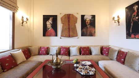 Sleep in historical surrounds at the Divan Çukurhan, with roots that date back to the 16th century