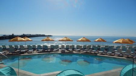 Dream Inn Santa Cruz is steps away from the beach