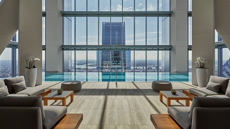 After a serene spa package atop the tallest building in the city, enjoy Philadelphia from the clouds