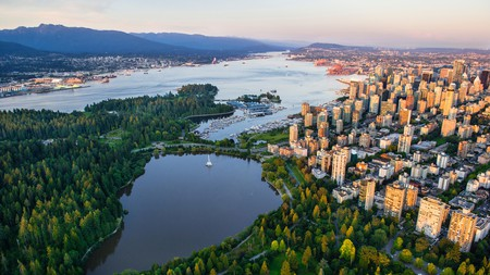 Take a walk on the wild side: Downtown Vancouver faces onto Stanley Park