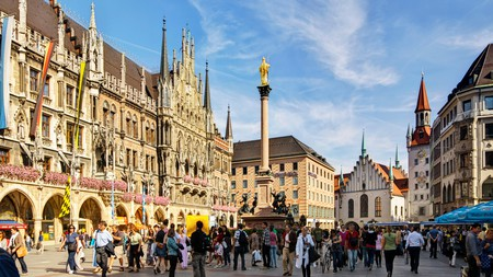 Munich's best hotels make a great base for enjoying the city's Bavarian architecture, the annual Oktoberfest or nearby outdoor pursuits