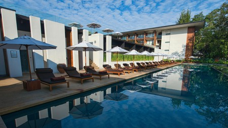 Enjoy a day by the pool at the Anantara Chiang Mai Resort or explore the city's other relaxing retreats