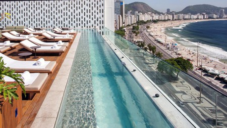 What a view! Emiliano Rio is one of Brazil's best known hotels