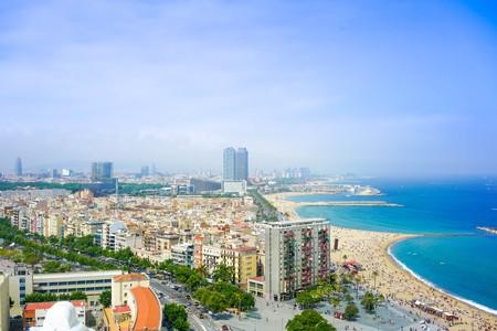 Stay near the beach in Barcelona