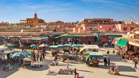 Stay close to the action of the Jemaa el Fna, but with all the glamour and comfort of a riad or resort